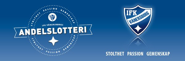 Andelslotteri IFK Vänersborg
