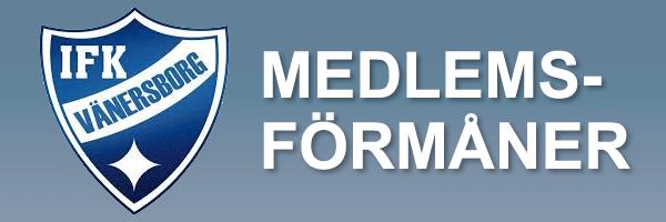 Medlemsformaner IFK Vänersborg