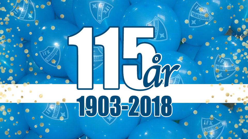 IFK Vänersborg 115 år