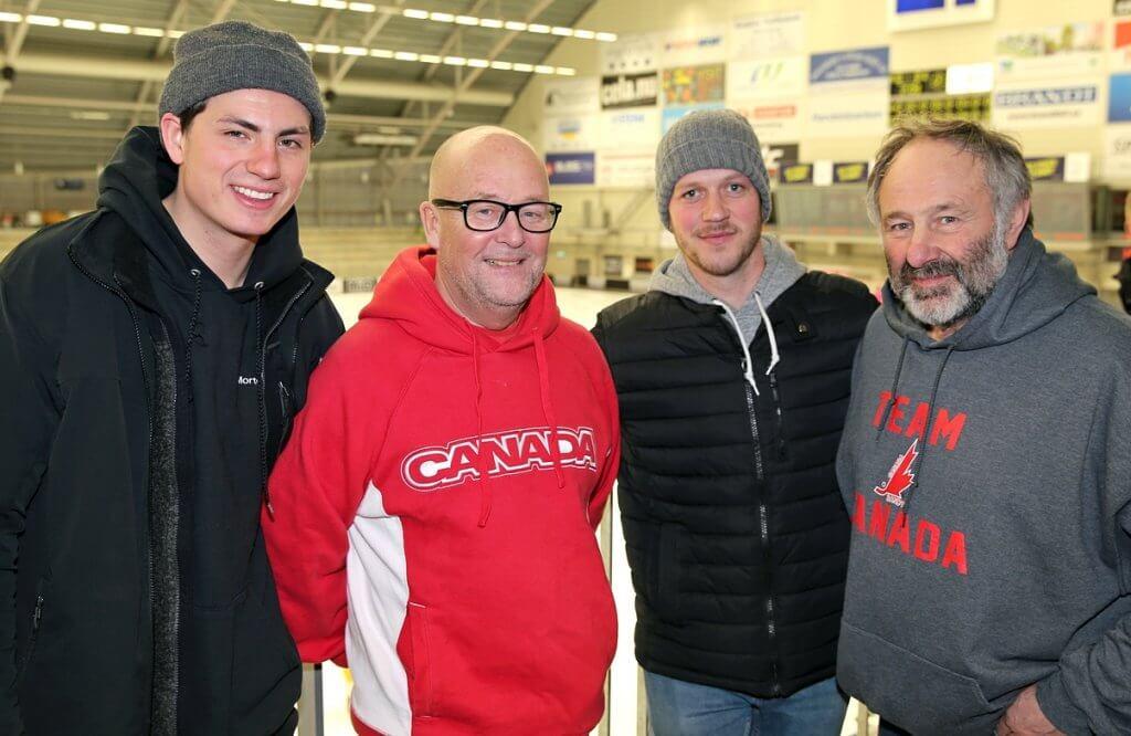 Sam Barker, Göran Svensson, David La Fleche och Kenneth Johansson