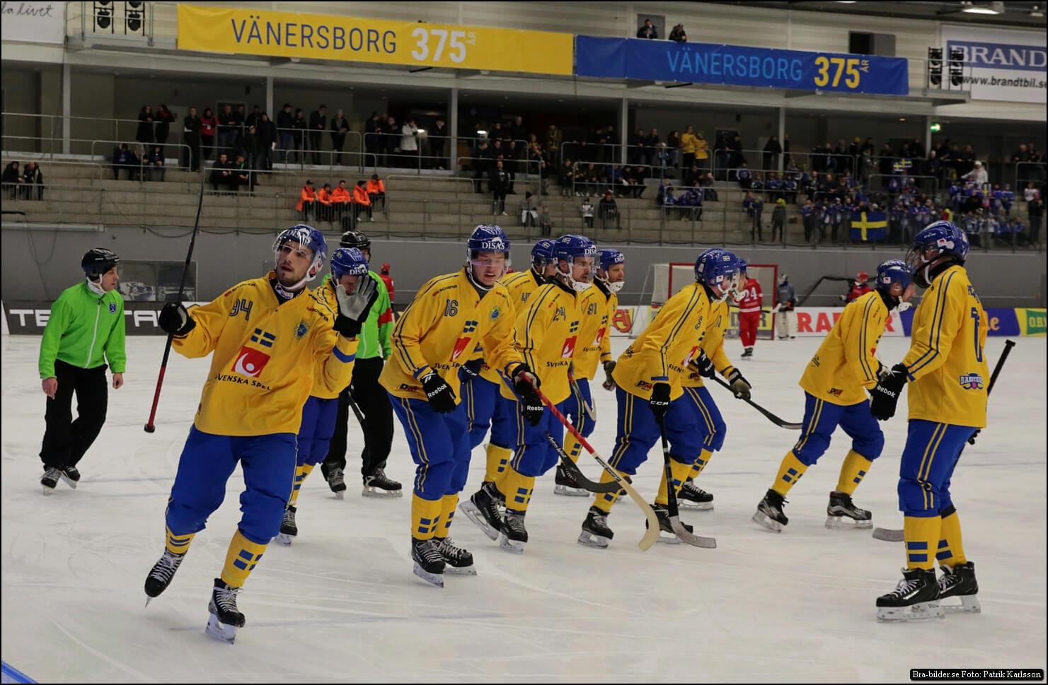 Sverige tackar