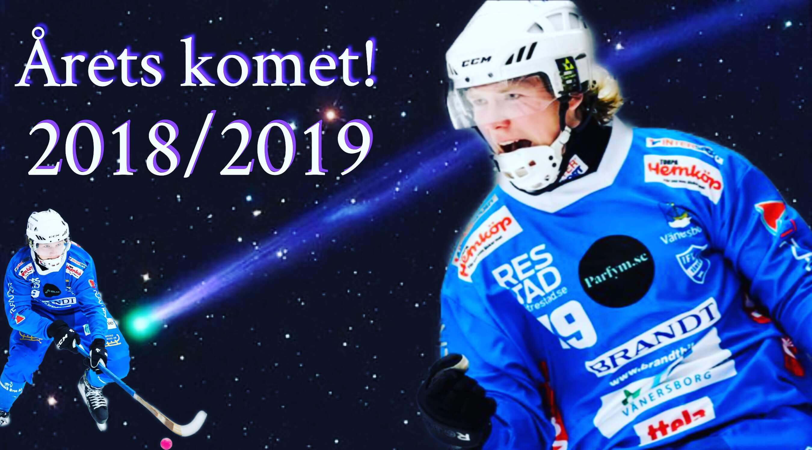 Robin Öhrlund årets komet
