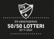 17 230 kr blev vinstsumman i 50/50 lotteriet IFK-VÄSTERÅS