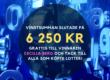 6 250 KR BLEV VINSTSUMMAN I 50/50 LOTTERIET IFK-VSK