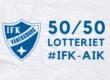 10 650 kr blev 50/50-vinsten i matchen mot AIK