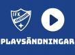 Playsändningar från Arena Vänersborg